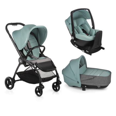 Poussette Outback + nacelle Crib + coque Auto One + Base One BE COOL 1