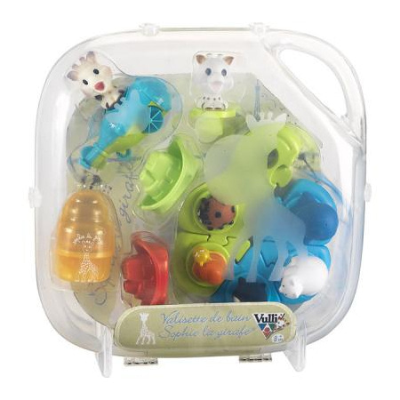 Valisette jouets de bain Sophie la girafe VULLI 1