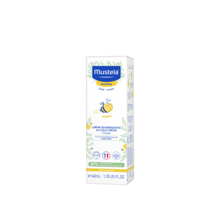 Crème nourrissante au Cold Cream MUSTELA 3