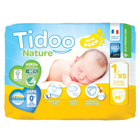 Couches écologiques Tidoo TIDOO 2