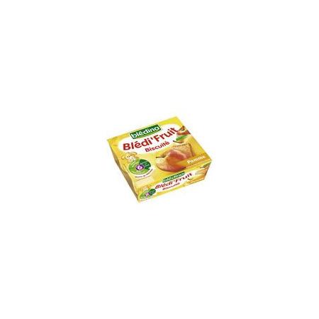 BLEDI FRUIT Biscuite pomme 4x100 g dès 6 mois BLEDINA 1