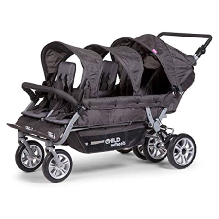 Poussette 6 places Child Wheels 1