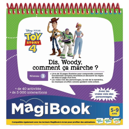 Magibook - Toy Story 4 - Dis, Woody, comment ça marche? VTECH 1