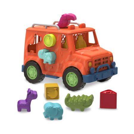 Camion jeep boite à formes Safari BRANFORD 1
