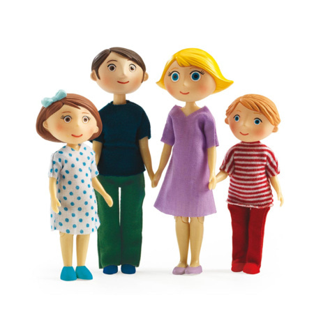 Figurines Famille - Gaspard et Romy DJECO 1