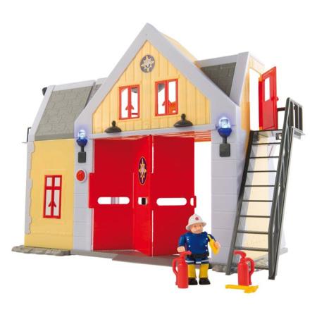 Caserne Sam le pompier SMOBY 1
