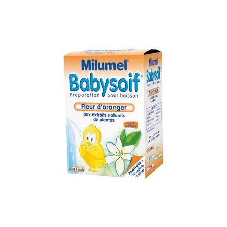 Milumel babysoif fleur d'oranger MILUMEL BABYSOIF 1