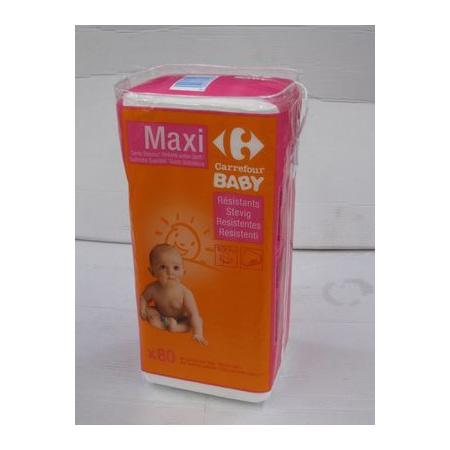 Maxi carrés de coton (x80) CARREFOUR 1