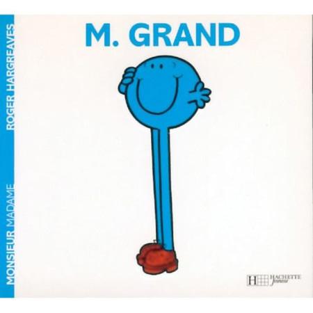 Livre Monsieur Grand HACHETTE JEUNESSE 1