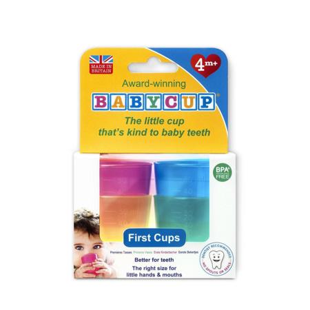 Lot de 4 minis tasses - Babycup - 2