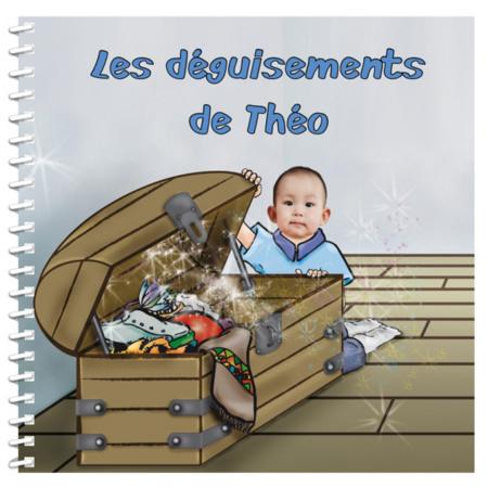 Livre personnalisé pour enfant : Je me déguise MON LIVRE PERSONNALISABLE 1