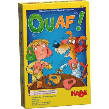 Jeu de société : Ouaf HABA 1