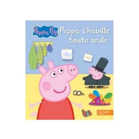 Livre Peppa pig s'habille toute seule HACHETTE JEUNESSE 1