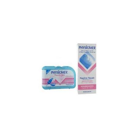 Physiomer Hygiène nasale + Mouche bébé 1
