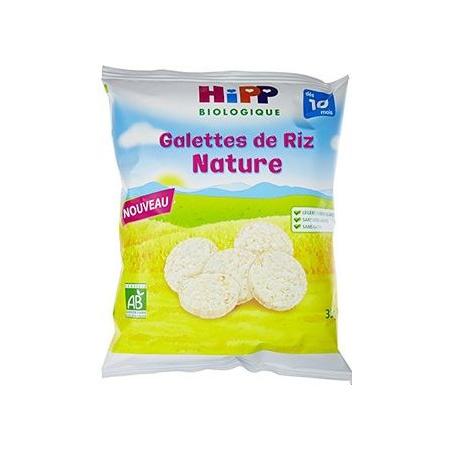 Galettes de riz nature HIPP 1