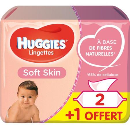 Lingettes Soft Skin 1