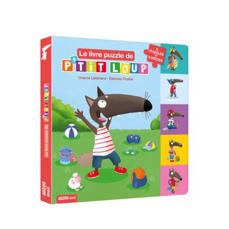 Livre Le livre puzzle de P'tit Loup EDITIONS AUZOU 1