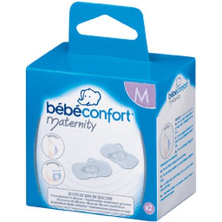 2 bouts de sein silicone Maternity BEBE CONFORT 1