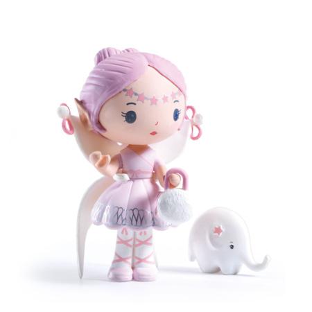 Figurine Tinyly - Elfe & Bolero DJECO 1