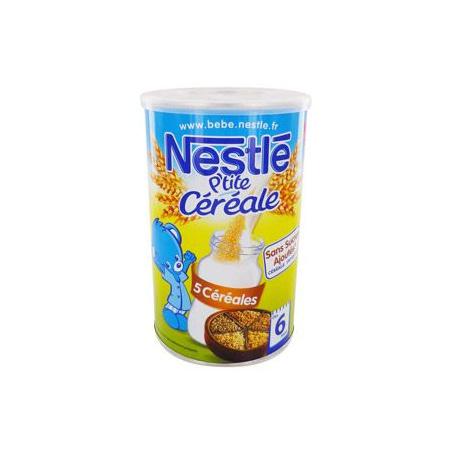 P'tite céréale 5 Céréales NESTLÉ 1
