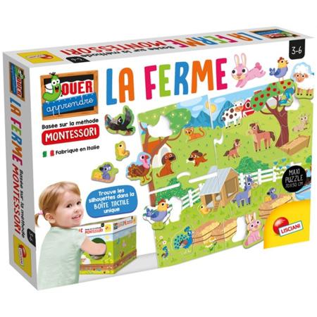 Montessori Maxi La Ferme LISCIANI 1