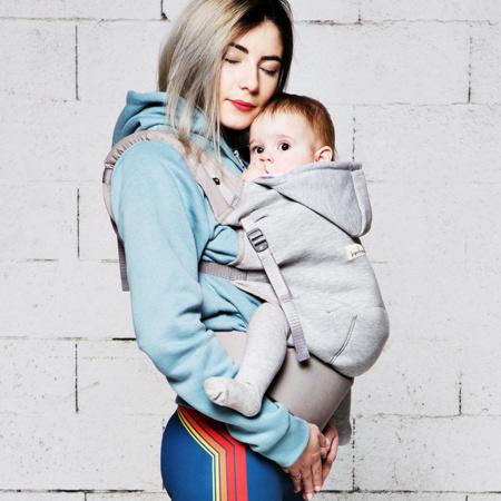 Porte-bébé Hoodie Carrier LOVE RADIUS 3