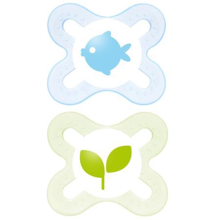 Sucette Naissance Nature 0-2 mois MAM 1