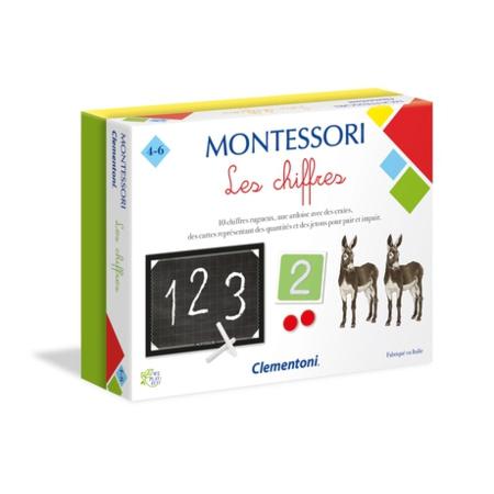 Montessori - Les chiffres CLEMENTONI 1