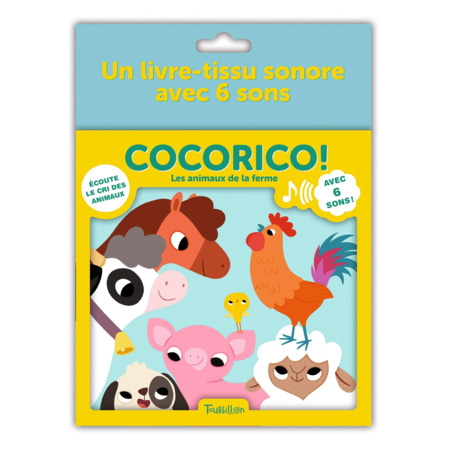 Livre Cocorico ! Les animaux de la ferme EDITIONS TOURBILLON 1