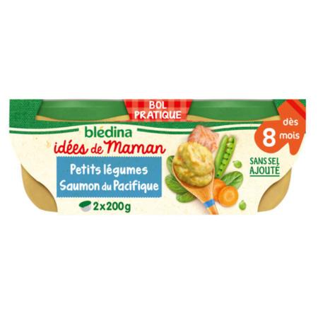 Petits Pots - Idée de Maman Petits légumes et saumon du Pacifique BLEDINA 1