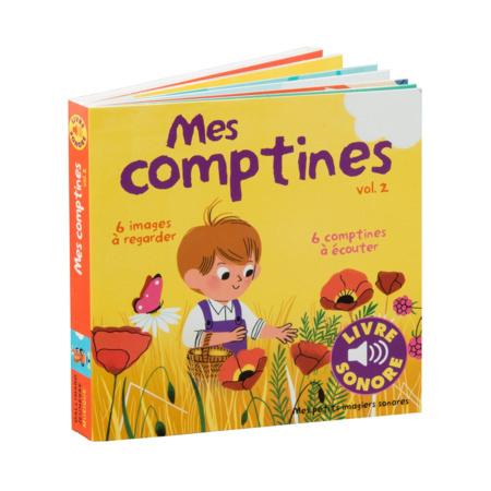 Livre Mes comptines Vol. 2 GALLIMARD JEUNESSE 1