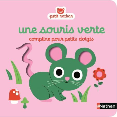 Une souris verte - Comptine pour petits doigts NATHAN 1