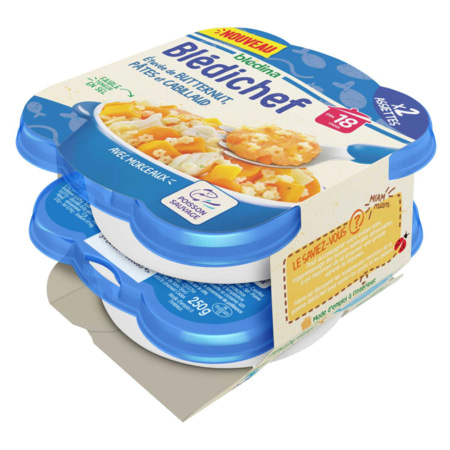BLEDICHEF Etuvée de butternut, pâtes et cabillaud 3