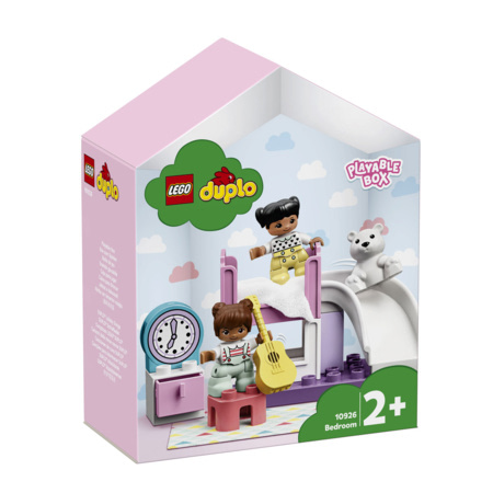 La chambre Duplo - Boîte de maison de poupées LEGO 1