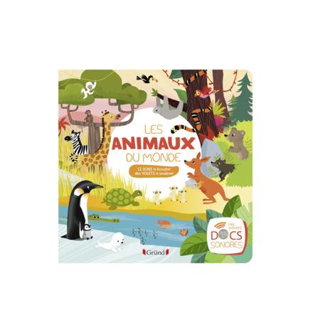 Livre Les animaux du monde GRUND 1
