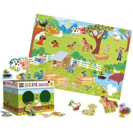 Montessori Maxi La Ferme LISCIANI 2
