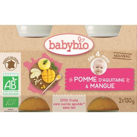 Bio pomme & mangue BABYBIO 1
