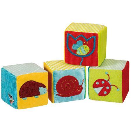 Cubes d'éveil Sophie la girafe VULLI 1