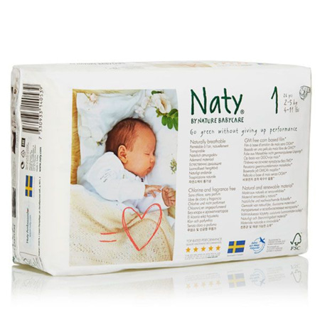 Couches Naty écologiques NATURE BABYCARE 2