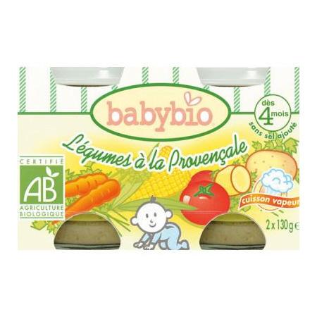BIO Légumes Provençale 130 g dès 4 mois 1