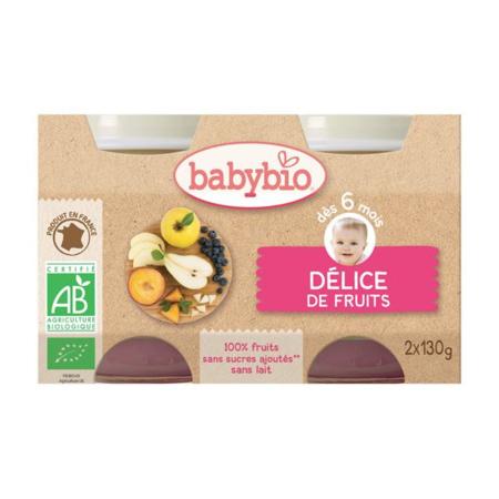 BIO Délice de Fruits dès 4 mois BABYBIO 1