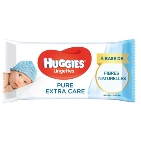 Lingettes Pure Extra Care 1