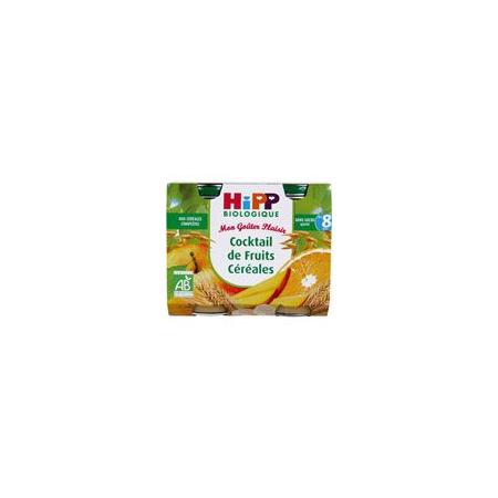 Cocktail de Fruits Céréales 190 g dès 8 mois HIPP 1