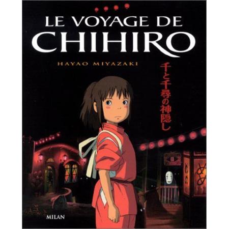 Livre Le Voyage de Chihiro MILAN 1