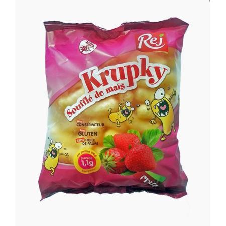 Soufflé de maïs à la fraise KRUPKY 1