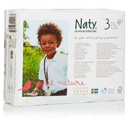 Couches Naty écologiques NATURE BABYCARE 8