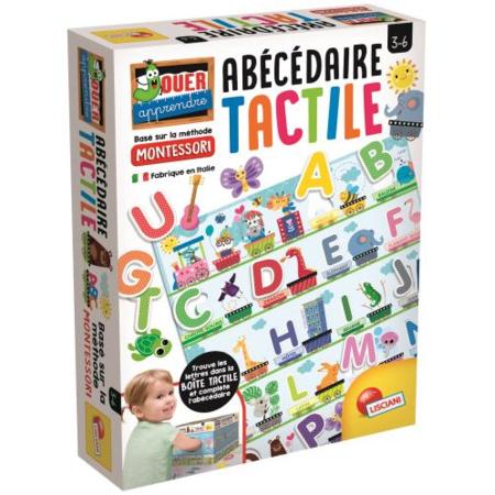 Montessori - Abécédaire tactile LISCIANI 1