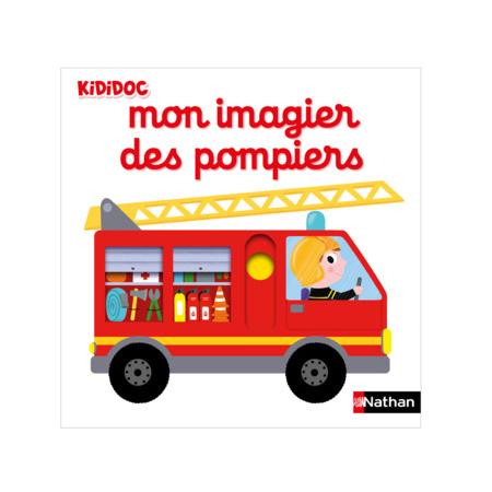 Livre Mon imagier des pompiers NATHAN 1