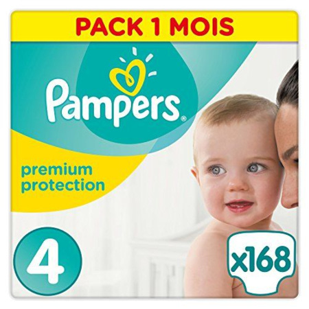 Couches Premium Protection PAMPERS 10