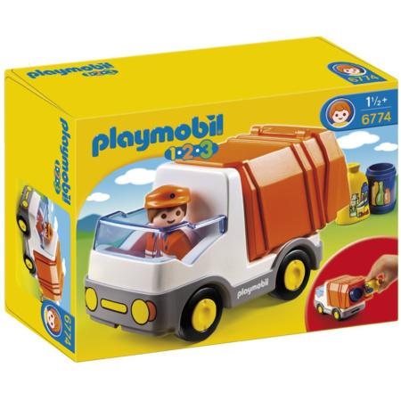 Playmobil 1.2.3 - Le camion poubelle PLAYMOBIL 1